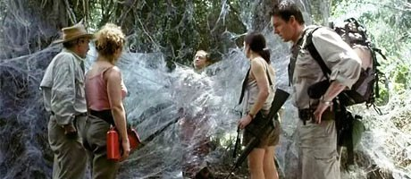 Arachnid Death Scene