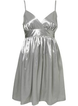 Topshop Shimmer Ra Ra Style Dress